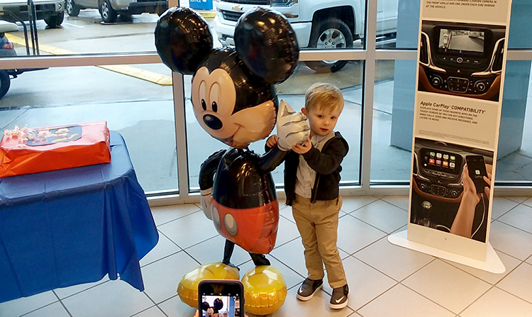 Toddler Boy with Heart Condition Receives Gift of Disney ...