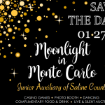 "Junior Auxiliary Announces the Annual Charity Ball Theme: ""Moonlight in Monte Carlo"""