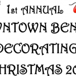 Downtown Benton Merchants Invited to Enter Window Decorating Contest by Dec 1st