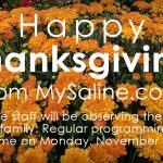 Happy Thanksgiving from MySaline!