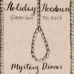 "Paron Youth Presents ""Holiday Hoedown"" Mystery Dinner Dec 30th"