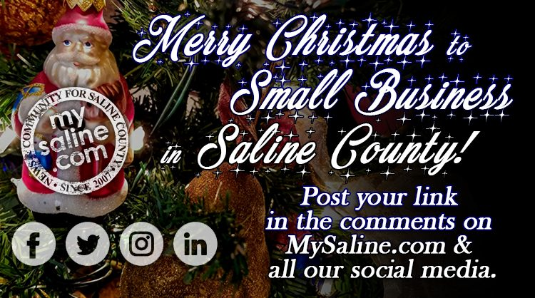 hey saline county small business you know we love you mysaline wouldnt be here without you you guys advertise with us all year and because of that