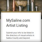 Artists, Submit Your Info for the Database