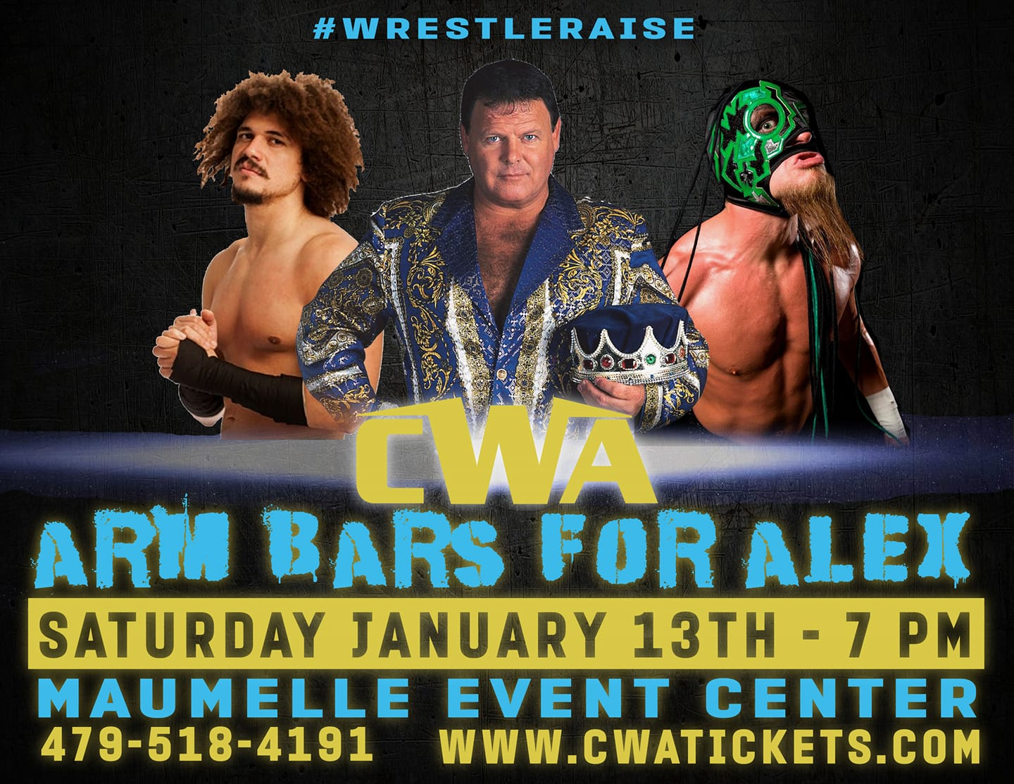 Wrestling Fundraiser For Local Boy Jan 13 Features Jerry Lawler