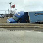 Wreck at Lunch in Front of Applebee's in Benton