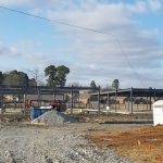 The Construction in Bryant Across from Collegeville Elementary Is…