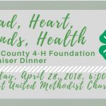 4-H to Host Fundraiser Dinner Apr 28th with BBQ, Live Entertainment, Auction