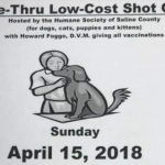 Drive-Thru Low-Cost Shot Clinic in Bauxite April 15th