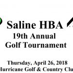 Home Builders Association to Host 19th Annual Golf Tournament Apr 26th