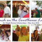 Lunch on Courthouse Lawn, May 3rd, to Fund Single Parent Scholarships