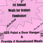 Make a Spring Door Hanger at 1st Annual Meals for Seniors, Mar 29th