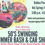 50s Car Show in Hot Springs Village May 5th to Benefit BG Club