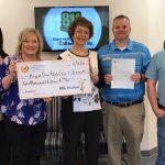 "FEC ""Round-Up"" Fund Gives Saline County Organizations Big Checks"