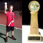 Benton Youth Wins Tennis Championship in Spring League