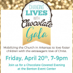 The CALL Presents Their Annual Chocolate Gala Friday April 20th in Benton