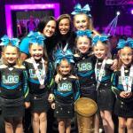 """Tiny Twilights"" Cheer Team Earns U.S. Championship Title in Florida"