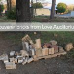 Hurry to Get a Souvenir Bricks from the Demolition of Love Auditorium
