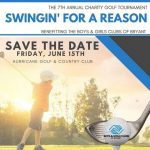 The 7th Annual Swingin' for a Reason Golf Tournament is June 15 in Bryant