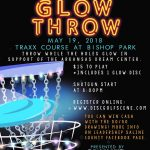 """Glow Throw"" Disc Golf Game at Night, May 19th"
