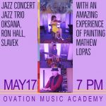 Jazz Concert set for May 17, featuring live painting in Benton