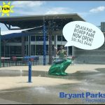 The Splash Pad is now Open at Bishop Park in Bryant