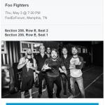 MySaline Facebook Followers Win Trip to See Foo Fighters