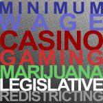 Minimum Wage, Casino Gaming, Marijuana, Legislative Redistricting and the November Ballot