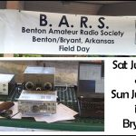 Ham Radio Operators Invite Public to Field Day Sat & Sun in Bryant