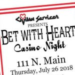 Civitan Presents Bet with Heart, July 26th in Benton