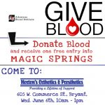 Donate Blood and Get Into Magic Springs for Free