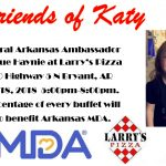 Eat Pizza in Bryant Monday Night and Support Arkansas MDA