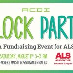 Block Party Aug 11th at Farmers Market Downtown to Benefit ALS