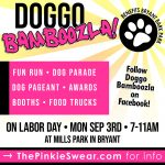 Doggo Bamboozla – Festival for Dogs – Coming to Bryant on Labor Day Sept 3rd