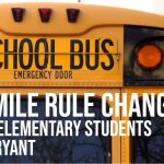 Bryant Schools Changes 2-Mile Rule for Busing Elementary Students
