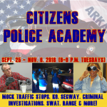 Sign Up for Citizens Police Academy in Benton