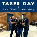 Mayor and Others Get Tased at Bryant Police Training