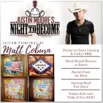 "Justin Moore to Perform at ""Night to Become,"" Oct 16th Fundraiser for Boys & Girls Club"