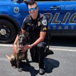 Bryant PD's Newest Employee is School K-9 Officer Mya