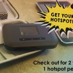 Library Has Mobile Hotspot Devices Available for Check-out