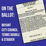 On the Ballot: City of Bryant Looks to Lengthen, Stagger Terms of City Council