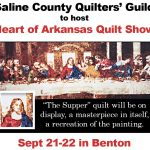 Quilter's Guild to Host Show in Benton Sept 21-22