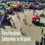 Bryant Fire Festival Saturday Features Free Food, Inflatables, more