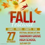 Harmony Grove to Host Fall Festival on Oct 27th