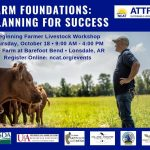 Barefoot Bend to Host All-Day Class for Beginner Livestock Farmers Oct 18th
