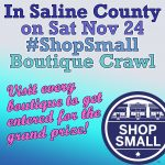 Shop the Boutique Crawl in Saline County for Small Business Saturday