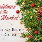 City of Benton Farmers Market Tree Lighting Dec 1st to Include Santa, Refreshments