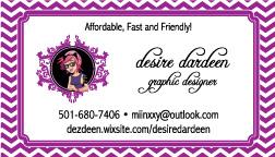 Desiree Dardeen Graphic Design MySaline Business Listings MBL