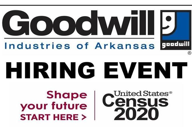Hiring Events for Census Jobs in Saline County July 23 & 30