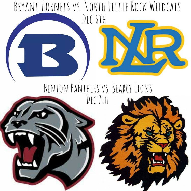 7a Bryant Hornets vs. North Little Rock Wildcats and 6a Benton Panthers Vs. Searcy Lions State championship high school football